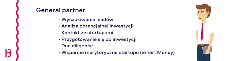 Obowiązki General partner w Venture Capital